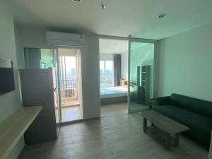 For RentCondoBang Sue, Wong Sawang : New-hand condo for rent, Regent Home, Bang Son - next to MRT Bang Son Phase 28, Building A, 26th floor, 1 bedroom.