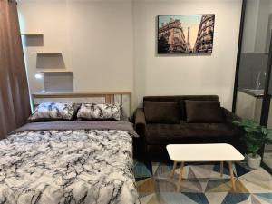 For RentCondoBangna, Lasalle, Bearing : Urgent rental 🔥 1st hand, cheapest in the website, beautiful decoration, DOLCE LASALLE condo, near BTS Bearing ❗️