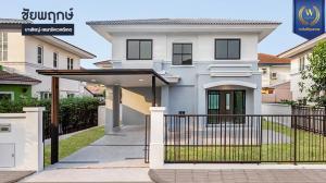 ขายบ้านบางใหญ่ บางบัวทอง ไทรน้อย : ขาย - บ้านเดี่ยว มบ.ชัยพฤกษ์ บางใหญ่-เซ็นทรัลเวสต์เกต 55.8 ตร.ว. 3 นอน 2 น้ำ 2 ที่จอดรถ