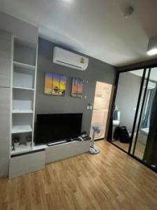For RentCondoSamrong, Samut Prakan : Condo for rent, ready to move in, The Cabana BTS Samrong, 28 sqm., Ready to visit