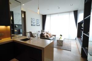 เช่าคอนโดสีลม ศาลาแดง บางรัก : For Rent Saladeang One ศาลาแดงวัน ห้องใหม่ ขนาด one-bedroom ขนาดใหญ่ 58 ตร.ม.