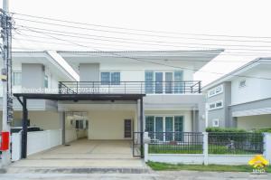 ขายบ้านบางใหญ่ บางบัวทอง ไทรน้อย : ขายบ้านแฝด 2 ชั้น หมู่บ้านคุณาลัย พราว บางบัวทอง หลังใหญ่ ย่านไทรน้อย นนทบุรี
