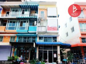 For SaleShophouseBang kae, Phetkasem : Commercial building for sale Busara Phetkasem 81 Village, Nong Khaem, Bangkok