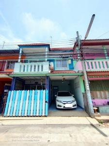 For SaleTownhouseRathburana, Suksawat : CH0109A Townhouse, Wiset Suk Nakhon Village, Pracha Uthit 79