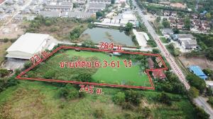 For SaleLandNawamin, Ramindra : Land for sale 6-3-61 rai next to Phraya Suren road. Ramintra Road 109, Bang Chan, Khlong Sam Wa, Bangkok