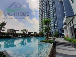 For RentCondoRamkhamhaeng, Hua Mak : Condo for rent, The Base Rama 9, fully furnished, nice room