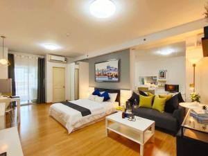 For SaleCondoBang kae, Phetkasem : For sale was Supalai Park Ratchapruek - Phetkasem ▪️. Studio room, 10th floor, BTS view, balcony facing north, not hot, room size 32.94 sq m.