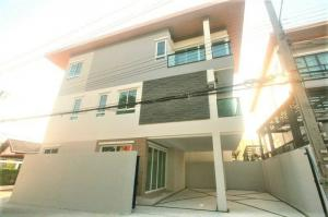 ขายบ้านลาดพร้าว101 แฮปปี้แลนด์ : บ้านเดี่ยว 3 ชั้น มีให้เลือก 3 หลัง 4 นอน,5 น้ำ ลาดพร้าว110 บดินทร1 ทาวน์อินทาวน์ รามคำแหง - ถนนศรีวรา AN109