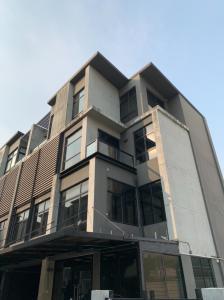 เช่าโฮมออฟฟิศเลียบทางด่วนรามอินทรา : ให้เช่า Rent District Sriwara ดิสทริค ศรีวารา โฮมออฟฟิศแนวโมเดิร์น 4 ขั้น ทาวน์อินทาวน์
