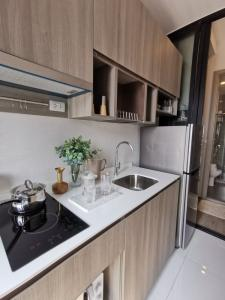 For SaleCondoOnnut, Udomsuk : 🔥KnightsBridge Prime On Nut, condo ready, near BTS On Nut and expressway. Price 3.99 MB. The project is ready, fully furnished fully