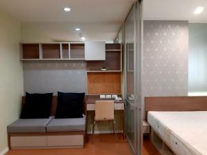 For RentCondoPattaya, Bangsaen, Chonburi : Studio room for rent, Lumpini Condo Town, North Pattaya - Sukhumvit, 12th floor, ready to move in.