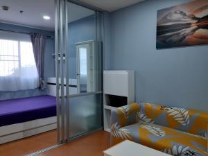 For RentCondoPattaya, Bangsaen, Chonburi : For rent, Lumpini Condo Town, North Pattaya - Sukhumvit 23.08 sq.m., 6th floor, ready to move in.