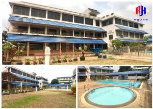 For RentOfficePinklao, Charansanitwong : Rent a kindergarten, 1 rai, suitable for office, office Soi Charansanitwong 95/1, enter Soi 700 meters, near MRT Bang O