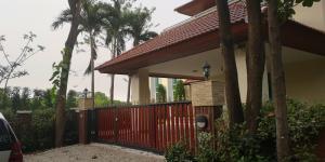 For RentHouseChengwatana, Muangthong : AN - House for rent, area 164 square meters, 4 bedrooms, 5 bathrooms, Chaengwattana, Pak Kret, Nonthaburi, near ISB School.