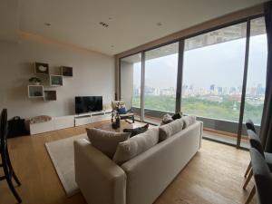 For SaleCondoSilom, Saladaeng, Bangrak : Urgent sale, Saladaeng One, 2 bedrooms, fully furnished, garden view 42.42MB