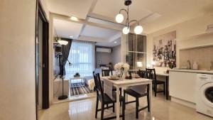 ขายคอนโดรัชดา ห้วยขวาง : ขายขาดทุน!!! ราคาต่ำกว่าโครงการ 30% ห้องสวยใกล้ MRT รัชดา 100 เมตร 2 นอน (Agent Welcome)