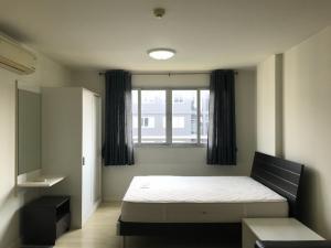 For RentCondoPattanakan, Srinakarin : Corner room for rent, D Condo On Nut Suvarnabhumi, Building C, 7th floor, 6500 / month.