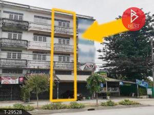 For SaleShophouseNakhon Pathom, Phutthamonthon, Salaya : Urgent sale 4-storey commercial building, Thawi Watthana, Bangkok.