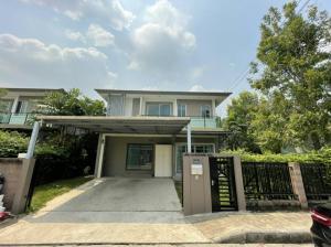 For SaleHousePattanakan, Srinakarin : Single house for sale The Plant Estique Pattanakarn(ขายบ้านเดี่ยว เดอะ แพลนท์ เอสทีค พัฒนาการ 38 หลังมุม)
