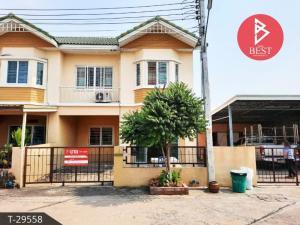 For SaleTownhouseRama 2, Bang Khun Thian : Townhouse for sale Village Pisan 3, Bang Kradee, Bang Khun Thian District Bangkok