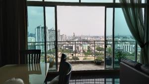For SaleCondoRatchadapisek, Huaikwang, Suttisan : Supalai wellington penthouse for sale.