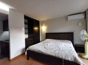 For RentCondoLadprao 48, Chokchai 4, Ladprao 71 : Family Park for rent, near MRT Suthisan, fully furnished studio room