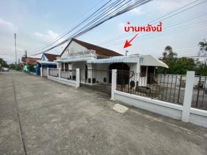 ขายบ้านระยอง : ขายบ้านเดี่ยว 53 ตารางวา หมู่บ้านบ้านฉางธานี ติดโรงแรมบ้านฉางพาเลช