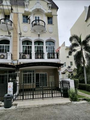 For RentTownhouseRamkhamhaeng, Hua Mak : for rent Townhouse, The Metro Perfect Masterpiece Rama 9 ,3beds,3bath,150sqm.