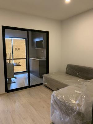 ขายคอนโดอ่อนนุช อุดมสุข : ขายคอนโดสไตล์รีสอร์ท ! Elio del nest (เอลลิโอ เดล เนสท์) อุดมสุข สุขุมวิท103 1 bed ตึก G ชั้นสูง 31 ตร.ม ครัวปิด ราคา 2.89 ลบ ฟรีวันโอน ฟรีเฟอร์ ฟรีเครื่องใช้ไฟฟ้า จัดเต็ม