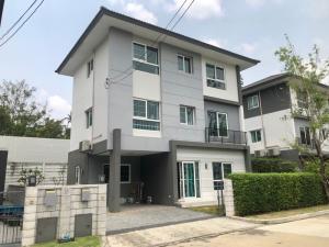 For SaleHouseRama5, Ratchapruek, Bangkruai : House for sale mind Tiwanon, built in, cheap.