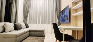 For RentCondoSathorn, Narathiwat : For rent KnightsBridge Prime Sathorn - 1 Bed, size 37 sq.m., Beautiful room, fully furnished.