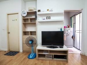 For RentCondoLadprao, Central Ladprao : Condo for rent, My Condo (My Condo) Ladprao 27, size 35 sq m, with TV, air conditioner, refrigerator, water heater, non-wave, washing machine, fully furnished (near MRT Lat Phrao)