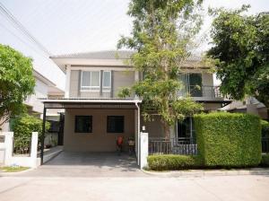 For SaleHouseOnnut, Udomsuk : 2-storey detached house, Life Bangkok Boulevard, Ring Road - On Nut 2, size 52.3 square meters, 4 bedrooms, 3 bathrooms, Prawet, Bangkok