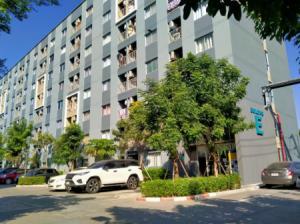 For RentCondoRangsit, Patumtani : Condo for rent on Rangsit Road, Nakhon Nayok, Klong 6, The Point Rangsit, Khlong 6, 26 sq m, fully furnished.