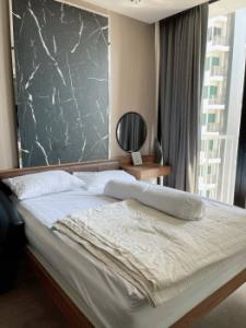 For RentCondoSukhumvit, Asoke, Thonglor : Condo for rent, beautiful room, ready to move in Electrical appliances Park Origin Phrom Phong 28.9 sq m. Ready to visit.