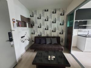 For SaleCondoRatchadapisek, Huaikwang, Suttisan : Sale 1 bedroom, 1 bathroom, 32 sqm, 3.3 million baht