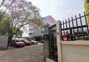 For SaleOfficeOnnut, Udomsuk : 4-storey office building for sale, Sukhumvit 101 Road, special price! Near BTS Punnawithi