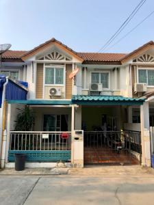 For SaleTownhouseSamrong, Samut Prakan : Townhouse near BTS Bearing.