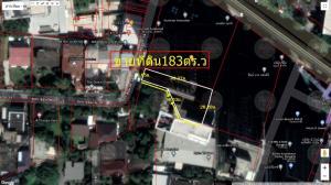 ขายที่ดินสุขุมวิท อโศก ทองหล่อ : ขายที่ดินเนื้อที่ 183 ตารางวา ซอย สุขุมวิท34  900,000บาท/ตารางวา ถนนสุขุมวิท