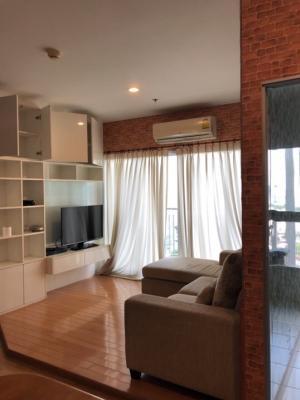 For SaleCondoThaphra, Wutthakat : คอนโด Parkland Taksin- Thapra ขนาด : 57.29 ตรม. ชั้น 19 อาคาร A เฟอร์นิเจอร์ครบ พร้อมอยู่
