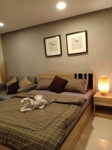 For RentCondoLadprao 48, Chokchai 4, Ladprao 71 : Condo for rent, fully furnished, Soi Ladprao 48, near MRT Sutthisan