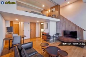 For RentCondoSukhumvit, Asoke, Thonglor : Condo for rent, Duplux room, Hi-End Siamese Exclusive - Sukhumvit 31, 72 sq m.
