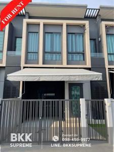 For RentTownhouseBangna, Lasalle, Bearing : ⭐ (For rent) Townhome 2 floors ** PLENO Sukhumvit - Bangna ** Good society near Mega Bangna.