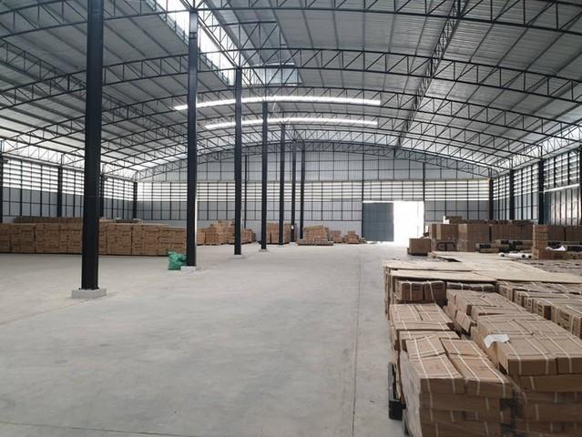 For RentWarehouseYothinpattana,CDC : Warehouse for rent in Bang Chan District Soi Phraya Suren Khlong Sam Wa, area 648 square meters