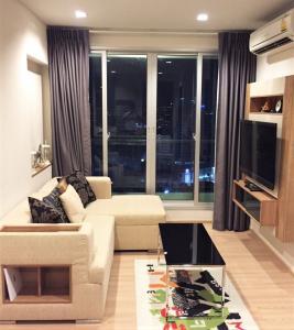 For RentCondoSathorn, Narathiwat : For rent Rhythm Sathorn 1 Bed, size 45 sq.m., Beautiful room, fully furnished.