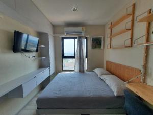 For RentCondoRattanathibet, Sanambinna : JSN012 **ภาพจริง ห้องจริง ห้องใหม่มือ1**ให้เช่า พลัมคอนโด เซ็นทรัล สเตชั่น เฟส2 : มีเครื่องซีกผ้า เครื่องกรองน้ำ ราคาดีต่อใจ