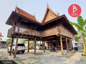 For SaleHouseKasetsart, Ratchayothin : Thai style house for sale, area 1 job, Bang Khen, Bangkok