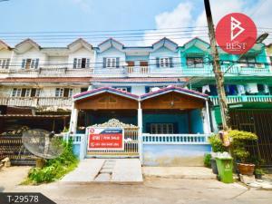 For SaleTownhouseRama 2, Bang Khun Thian : 3-storey townhome for sale, Sinthawee Grand Village, Bang Khun Thian, Bangkok