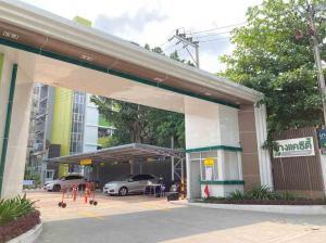 For SaleCondoBang kae, Phetkasem : Very cheap !! Bang Khae City Condo opposite THE MALL Bang Khae MRT two main rooms, ready to move in. 690,000