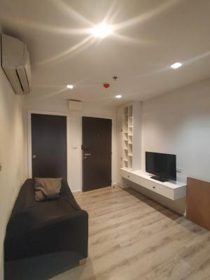 For RentCondoBangna, Lasalle, Bearing : Urgent rent, Knightbridge Condo, bearing a great price, only 12,000 baht.